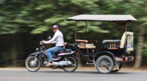 Как правильно ловить тук-тук в Камбодже?
