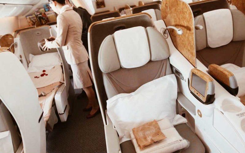 Выбираем лучшие места в самолёте